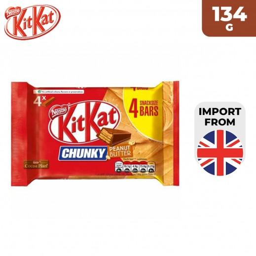 KitKat Chunky Peanut Butter Chocolate 134 g