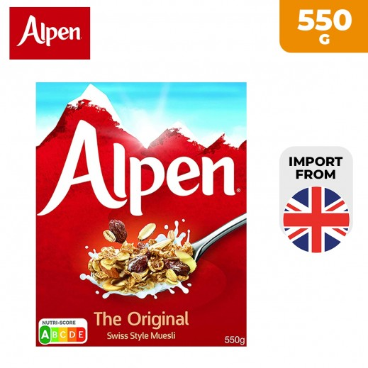 Alpen Original Muesli 550 g