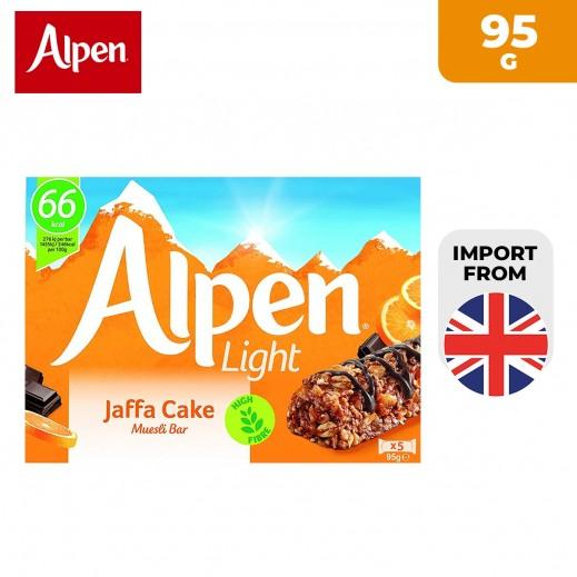 Alpen Light 5 Jaffa Cake Cereal Bar 95 g