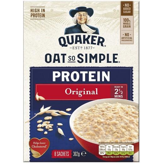 Quaker Oat So Simple Protein Original Porridge 302 g