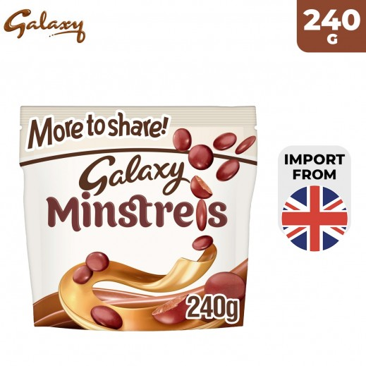 Galaxy Minstrels Chocolate More to Share Chocolate 240 g