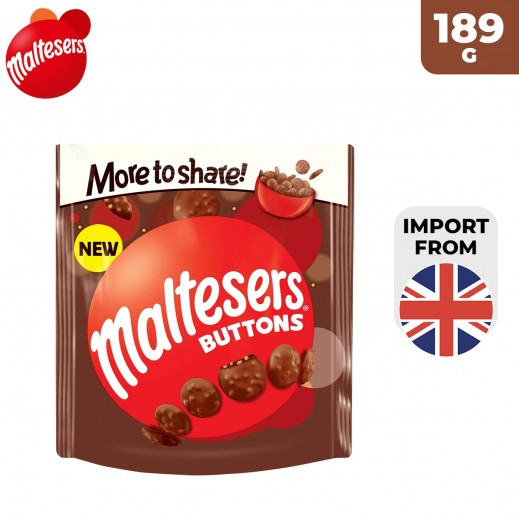 Maltesers Buttons More to Share Chocolate 189 g