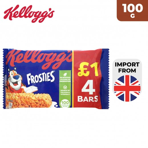 Kellogg's Frosties 4 Cereal Bars 100 g
