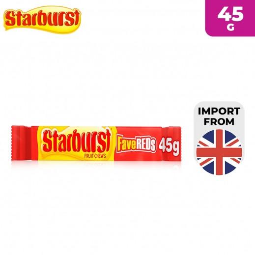 Starburst FaveReds Fruit Chews Candy 45 g