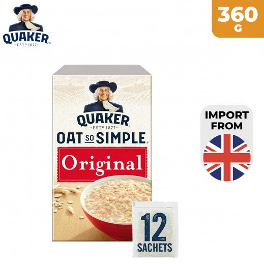 Quaker Oats So Simple 12 Original Oats 360 g