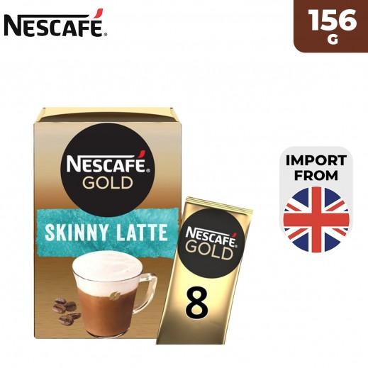 Nescafe Skinny Latte Coffee 156 g (8 Sachets)