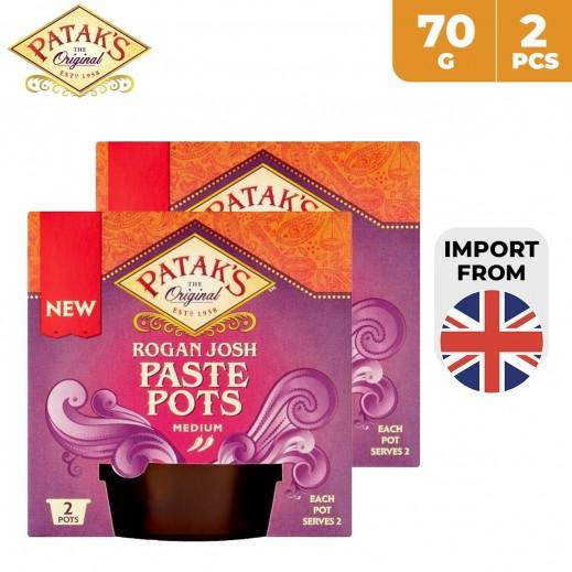 Patak's Rogan Josh Paste Pots 2 x 70 g