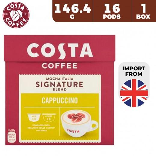 Costa Coffee Cappuccino Pods 146.4 g (16 Capsules)