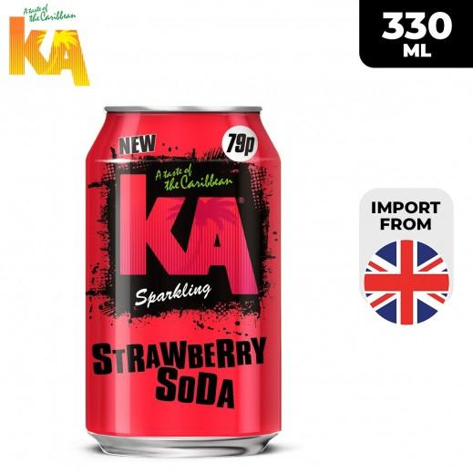 KA Sparkling Strawberry Soda Drink 330 ml
