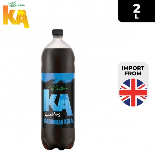 KA Sparkling Karibbean Kola Drink Bottle 2 L