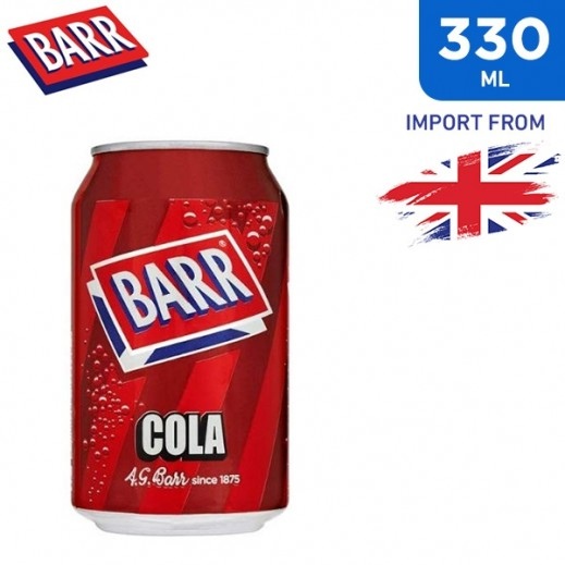 Barr Soft Drinks Cola 330 ml