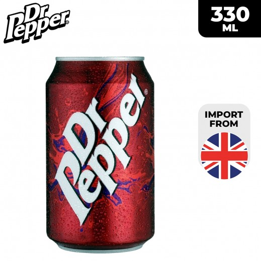 Dr. Pepper Soft Drinks 330 ml
