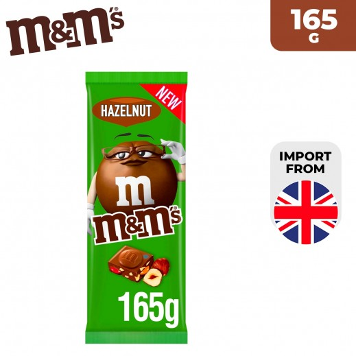 M&M's Hazelnut Chocolate Bar 165 g