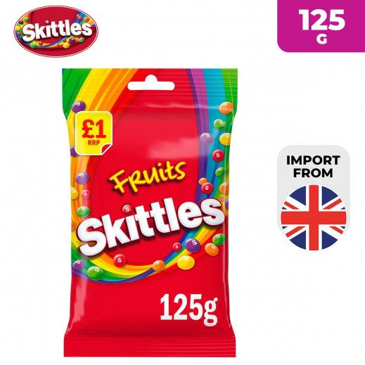 Skittles Fruits Candy 125 g