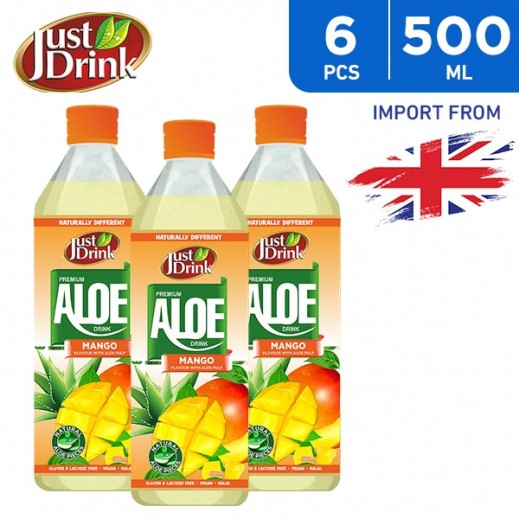 Just Drink Aloe Mango 6 x 500 ml