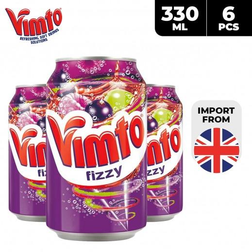 Vimto Fizzy Fruit Soda 6 x 330 ml