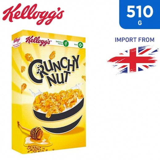 Kellogg's Crunchy Nut Honey & Nut Flakes 510 g