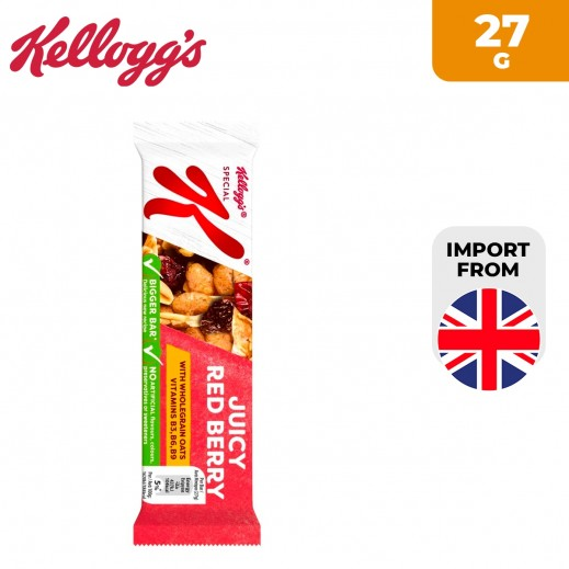 Kellogg's Special K Juicy Red Berries Cereal Bar 27 g