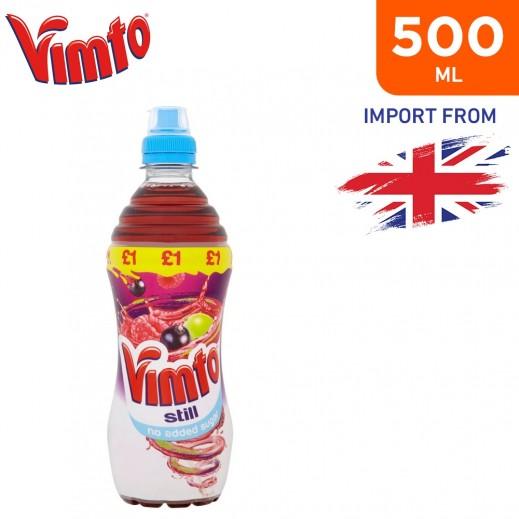 Vimto No Added Sugar Still Drink Sportcap 500 ml