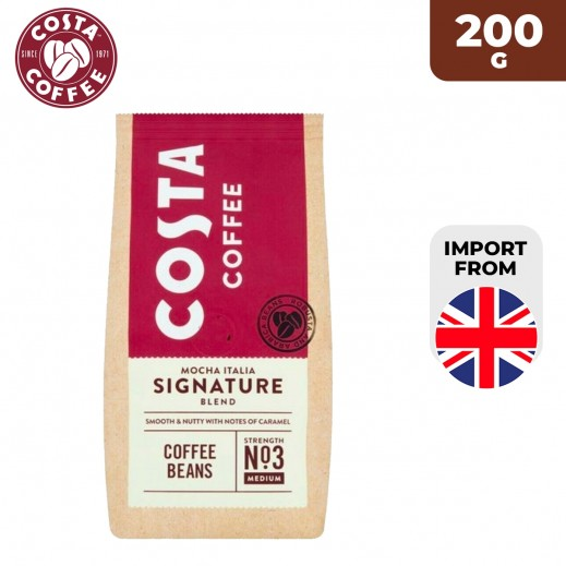 Costa Coffee Mocha Italia Signature Blend Coffee Beans 200 g