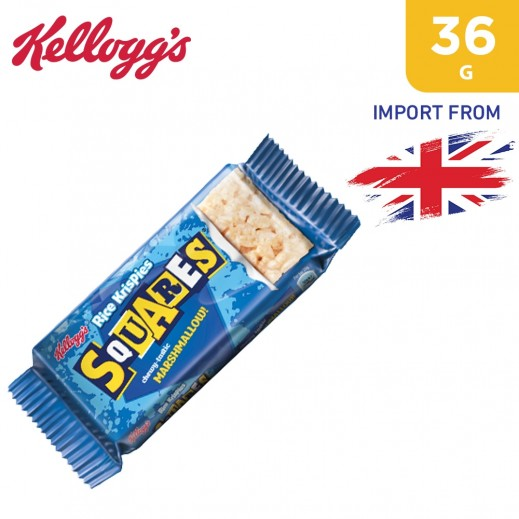 Kellogg's Rice Krispies Squares Chewy tastic Marshmallow Cereal Bar 36 g