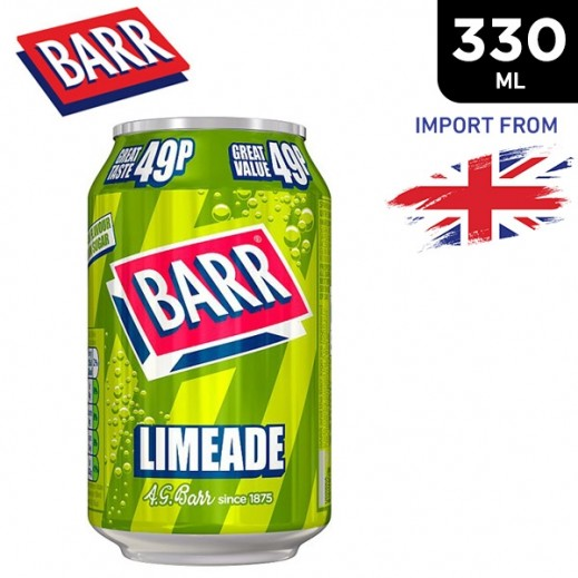 Barr Limeade Drink Can 330 ml