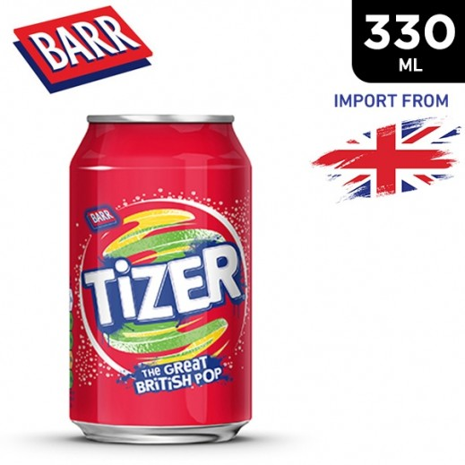 Barr Tizer Drink Can 330 ml