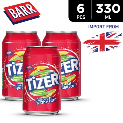 Barr Tizer Can 6 x 330 ml