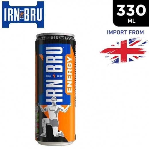 Irn Bru Energy Drink Can 330 ml