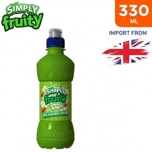 Simply Fruity No Added Sugar Apple Juice Drink 330 ml