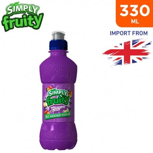 Simply Fruity No Added Sugar Blackcurrant & Apple Juice Drink 330 ml