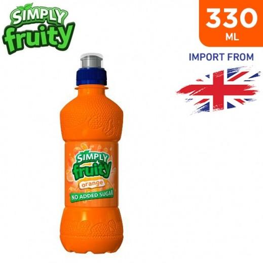 Simply Fruity No Added Sugar Orange Juice Drink 330 ml