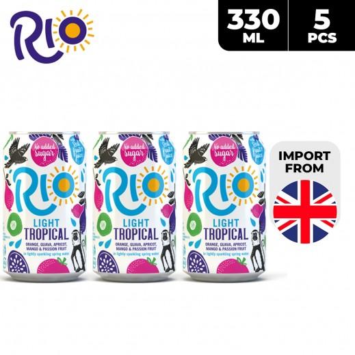 Rio Light Tropical Drink 5 x 330 ml