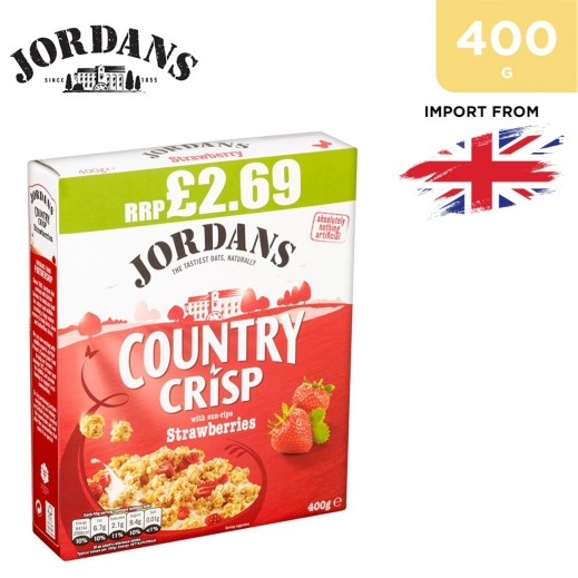 Jordan Country Crisp Strawberries Cereal 400 g
