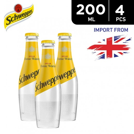 Schweppes Tonic Water 4 x 200 ml