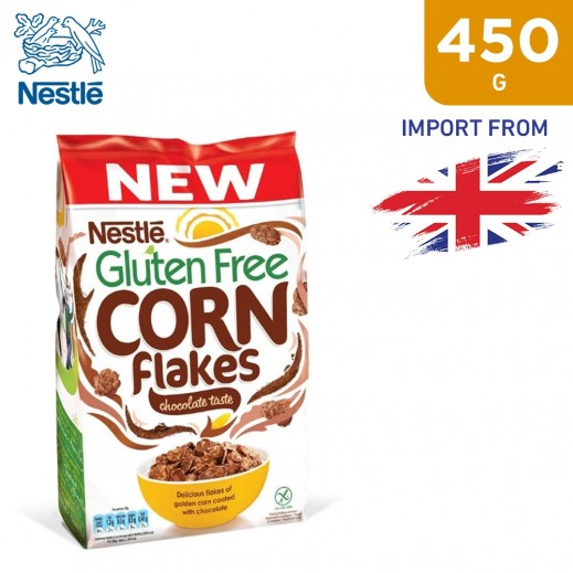 Nestle Gluten Free Chocolate Corn Flakes 450 g