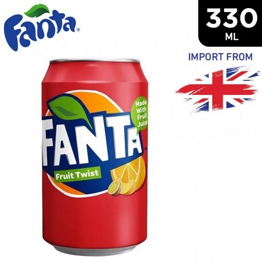 Fanta Fruit Twist Drink Can 330 ml