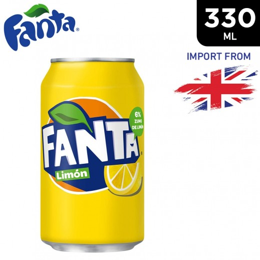 Fanta Icy Lemon Drink Can 330 ml