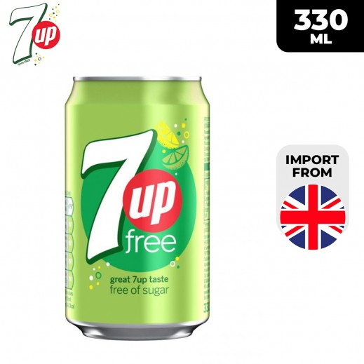 7Up Free Drink Can 330 ml
