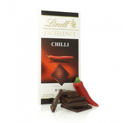Lindt Excellence Dark Chilli 100g