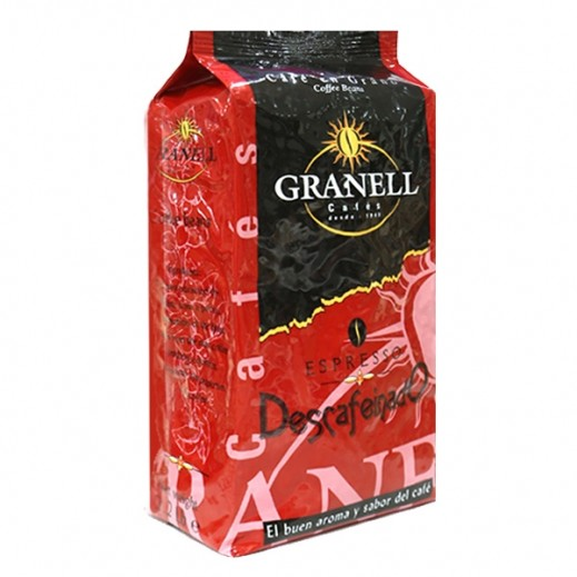 Granell Decaffeinated Espresso Coffee Beans 1 kg