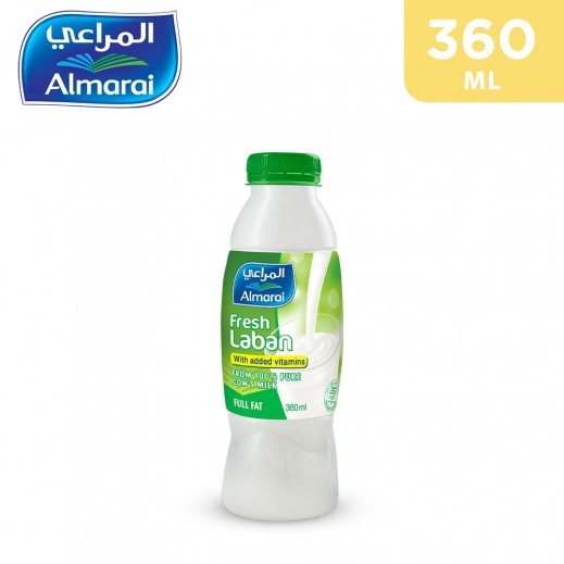 Almarai Fresh Laban Full Fat 360 Ml
