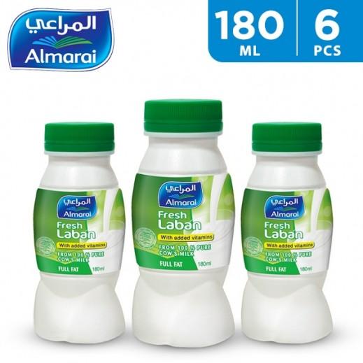 Al Marai Full Fat Laban 6 x 180 ml