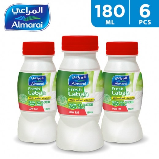 Al Marai Low Fat Laban 6 x 180 ml