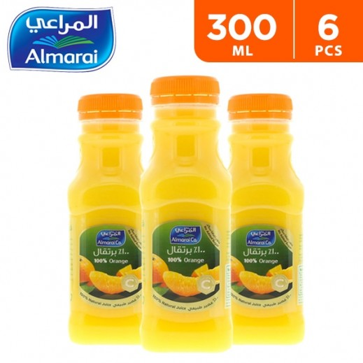 Almarai Orange Premium Juice 6 x 300 ml