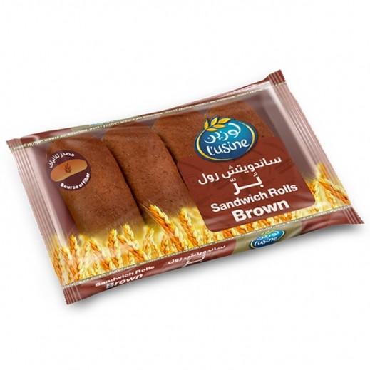 Lusine Brown Sandwich Roll 200 g