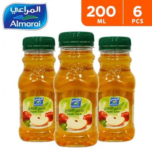 Almarai Mixed Apple Juice 6 x 200 ml