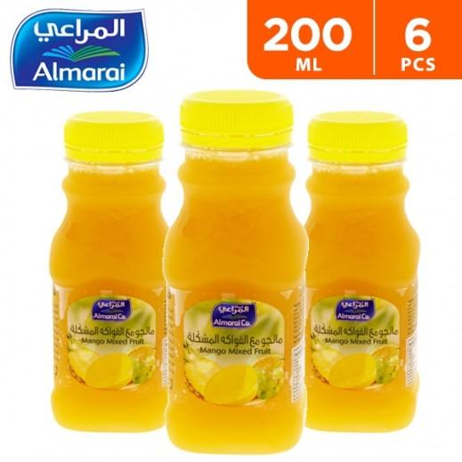 Almarai Mixed Mango Juice 6 x 200 ml