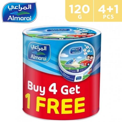 Almarai Triangle Cheese 8's 120 g (4 + 1 Free)