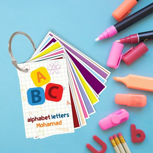 Alphabet Letters Cards - delivered by Berwaz.com